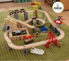 step 2 plastic train table step2 deluxe canyon road train track table wooden play centres