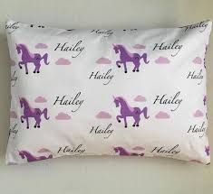 personalized pillows for baby personalized unicorn pillow w insert included pillows toddler