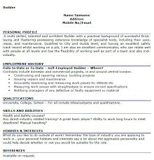 marvellous sample of hobbies and interests on a resume 61 on