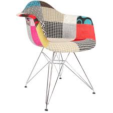 chaise patchwork eames