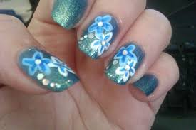 flower nail art designs choice image nail art designs