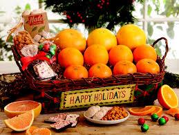 Fruit Baskets Happy Holidays Gift Baskets