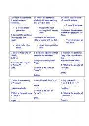 english worksheets quiz quiz trade