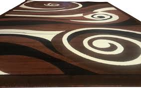 Modern Rugs Reviews Brown And Black Rug Roselawnlutheran Throughout Black And Brown