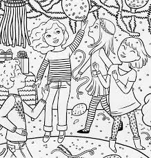 party coloring page coloring page party bridal party