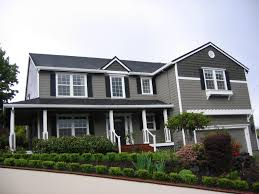 Grey House Colors Attractive Houses With Shutters That Will Be The Center Of