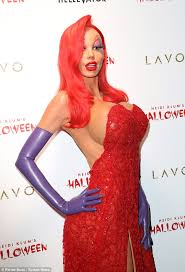 10 Amazing Heidi Klum Halloween Costumes Copy Celebrity Halloween Costumes Blonde Salad