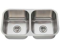 A Double Bowl Stainless Steel Kitchen Sink - Kitchen bowl sink
