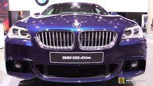 2016 bmw 5 series 550i xdrive m sport exterior and interior