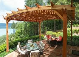 Grape Vine Pergola by Grapevine Mortar Joint Patio Traditional With Wood Pergola