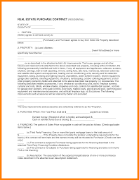Real Estate Sales Agreement Template by House Contract Form Thebridgesummit Co