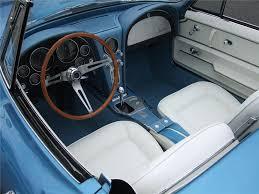 white corvette interior 1965 chevrolet corvette convertible 137949