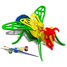 amazon com 3d wooden diy jigsaw puzzle handmade assemble animal