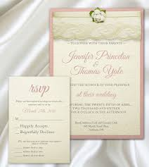 Vintage Lace Wedding Invitations Party In Print Blog Archive Black White And Blush Lace