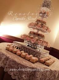 decorate my wedding crystal wedding cake stands michelle ma belle