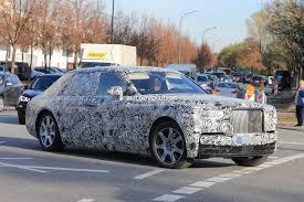 2018 rolls royce phantom spotted in german traffic doesn u0027t hide