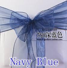 navy blue chair sashes popular organza chair sashes wholesale buy cheap organza chair