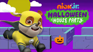 house party game nick jr paw patrol halloween house party for kids happy