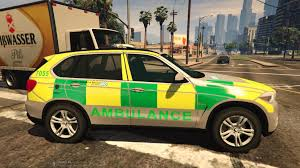 green bmw x5 london ambulance service rrv bmw x5 skin gta5 mods com