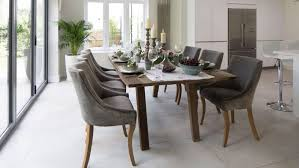 gray velvet dining chairs enter home ideas wingback room of