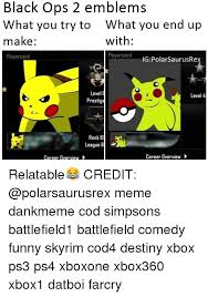 Black Ops 2 Memes - black ops 2 emblems what you try to what you end up make with