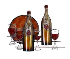 wine themed metal wall decor furniture for less