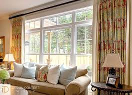 Curtains For A Picture Window Custom Window Panels Curtains Budget Blinds Really Encourage