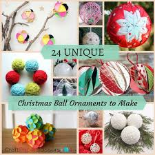 24 unique ornaments to make craft paper scissors