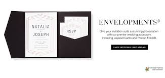 invitation pockets bridal path boutique invitations more enclosures pockets
