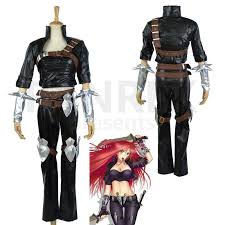lol league of legends cosplay sinister blade katarina costumes