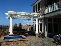 alumawood patio covers freestanding laguna lattice alumawood