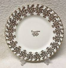 50th anniversary plate royal albert anniversary ebay