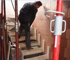 treppe betonieren scheunenhaus hausbau reportage nr 2