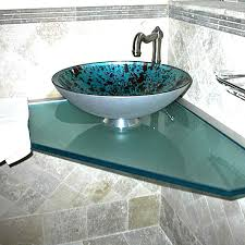 Vanity Top For Vessel Sink Glass Vanity Tops Raleigh Nc Vanity U0026 Sink Custom Glass