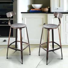 Industrial Metal Bar Stool Metal Bar Stool With Back U2013 Lanacionaltapas Com