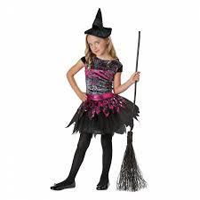 pink witch costume girls totally ghoul spell binder witch halloween costume shop