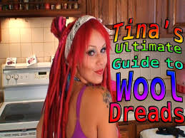 How To Dread Hair Extensions by Tina Tiainen U0027s Ultimate Guide To Wool Dread Extensions Part One