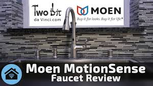 Touch Free Kitchen Faucet Moen Motionsense Faucet Review The Best Touch Free Kitchen Faucet