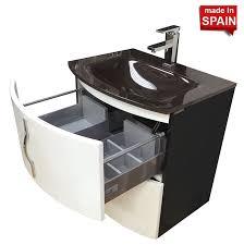 Bathroom Vanity 24 Inch by Socimobel Kron 24 Inch Modern Bathroom Vanity Chl024bw