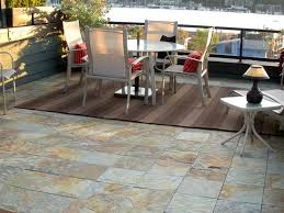 create an stunning slate patio in just minutes with ezytile