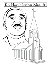 Martin Luther King Jr Coloring Pages Free Martin King Jr Coloring Dr Martin Luther King Jr Coloring Pages