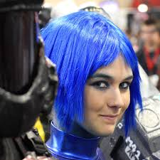 blue hair wikipedia