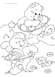 care bears free coloring sheet coloring pages for kids