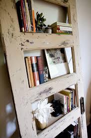 Door Bookshelves repurposed bookcase worn out i have that door from baylee