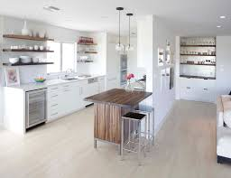 Distressed Wood Shelves by Distressed Wood Shelves Kitchen Modern With Stainless Steel