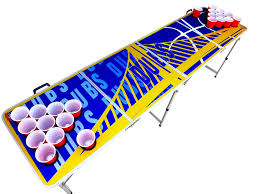 Hockey Beer Pong Table Amazon Com Dubs Beer Pong Table With Predrilled Cup Holes