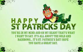 happy st patrick u0027s day greeting quotes worldwide celebrations