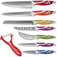 uses of kitchen knives den professional chef knives multi use 8pc gift