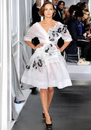 Molly Luetkemeyer by Spry On The Wall My Five Christian Dior Couture Spring 2012
