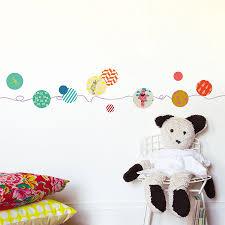 frise chambre frise murale enfant petites maisons par mimilou chambre bébé